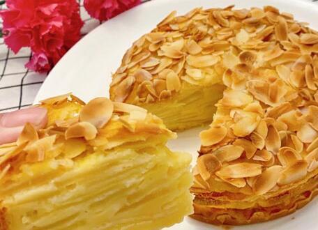 苹果千层蛋糕的制作流程分享